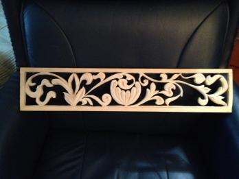 Floral panel